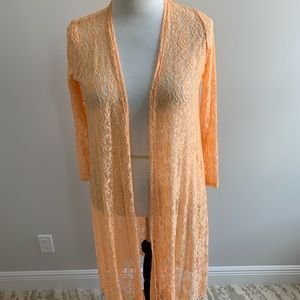 Peach Lace Sarah -BNWT - Size Medium